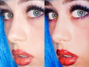 edited headshot, editing a headshot, before and after editing headshot