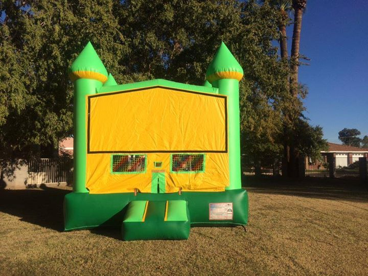 Brilliant Green Castle Modular Bounce House Phoenix Inflatable Rental Home Interior And Landscaping Ferensignezvosmurscom