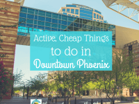 Looking for fun, active and cheap things to do in downtown Phoenix? Look no further! These cheap or free activities will keep you on the move.