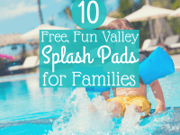10 Free Fun Valley Splash Pads for Families