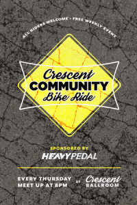 Image of poster for community bike ride
