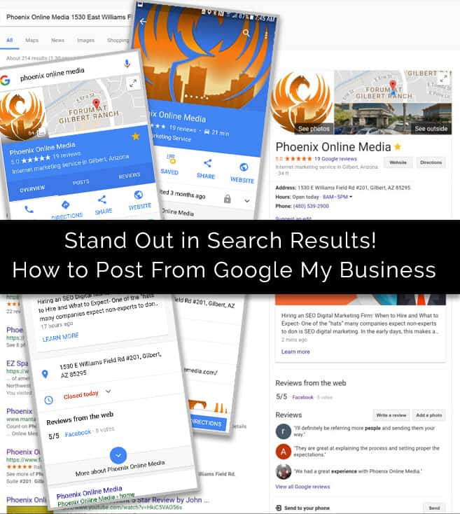 Stand Out in Search with Google My Business Posts