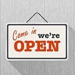 open for business and visible thanks to local search engine optimization