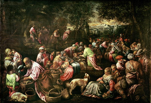 Jean's Gospel: Feeding the Five Thousand 1