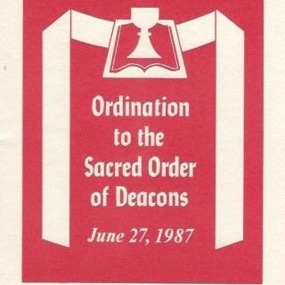 June 27, 1987: Duane W.H. Arnold, PhD 13