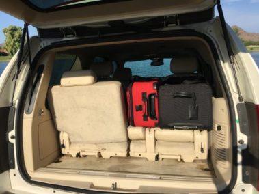 Escalade Partial Luggage