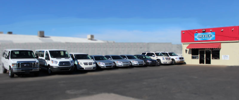 Cars Vans and SUVs for Rent at Phoenix Car Rental