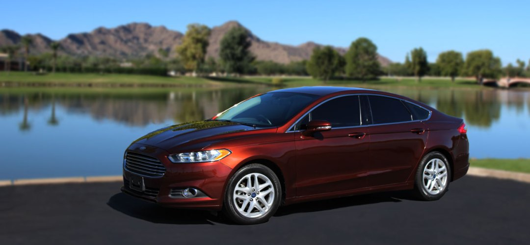 Ford Fusion for rent in Phoenix Arizona
