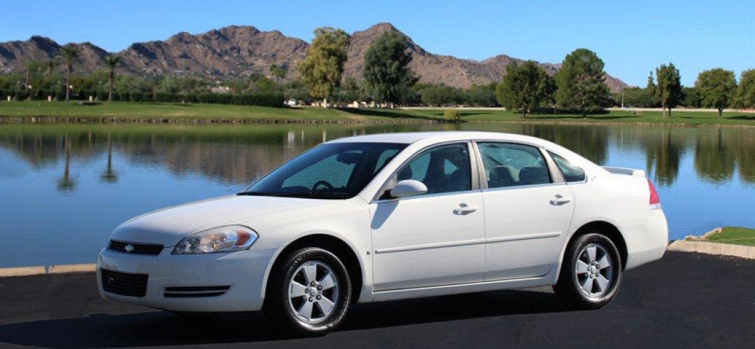 Chevrolet Impala for rent in Phoenix Arizona