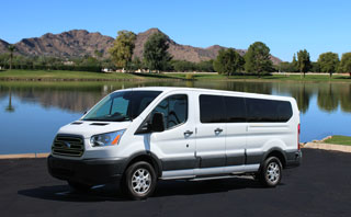 Ford Transit Van for rent in Phoenix, Arizona