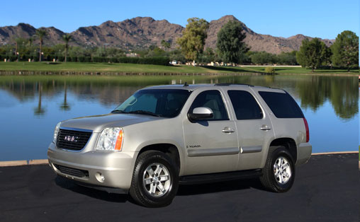 GMC Yukon for Rent Phoenix Arizona