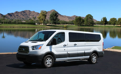 Ford Transit Van for Rent at Phoenix Car Rental