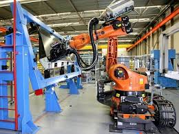 Robot Drilling and fastening