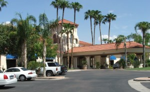 Clubhouse in Val Vista lakes