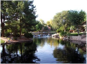 The Springs terraced lakes