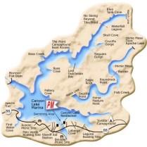 Canyon Lake Map