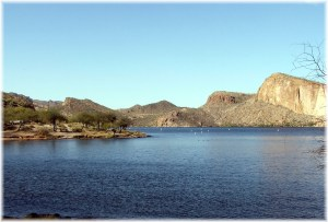 Canyon Lake in Tonto National Forest