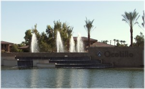 Ocotillo Lakes Fountain