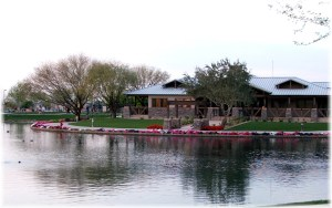 Power Ranch Lake and Clubhouse