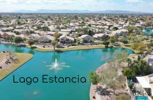 Lago Estancia in Gilbert-Lake Community