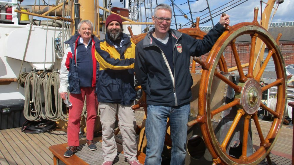 Laurence and crew take the helm of Eagle