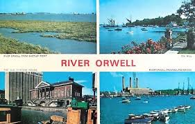 River Orwell - Postcard from the past