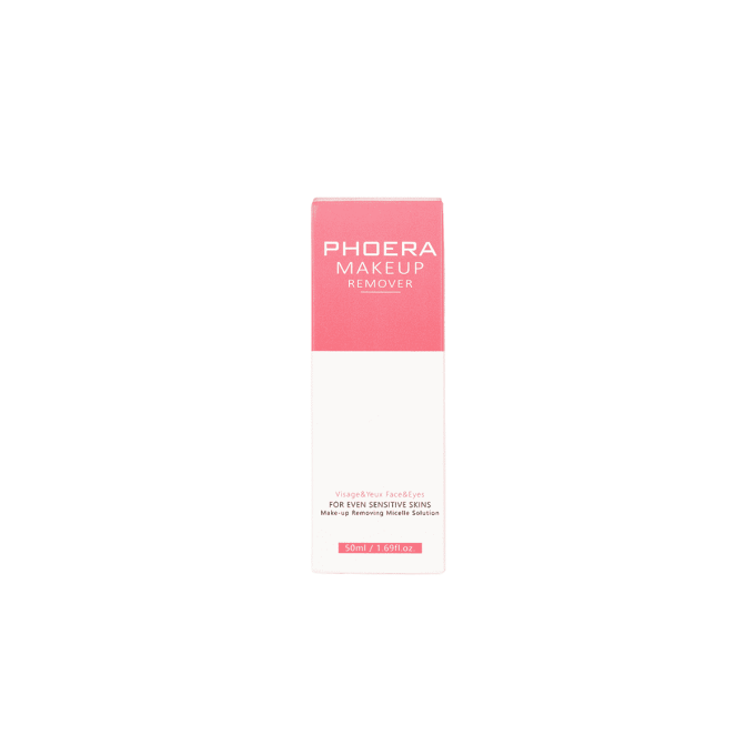 Makeup Remover Phoera Cosmetics