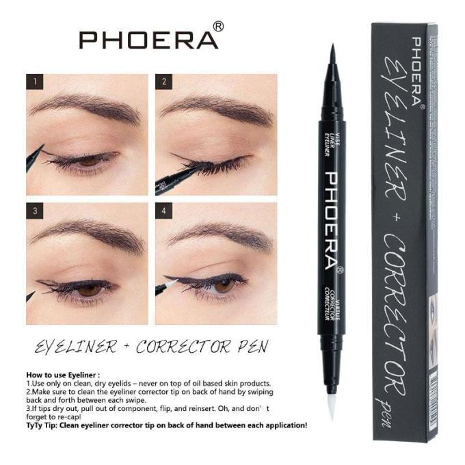 Eyeliner & Corrector Pen Phoera Cosmetics
