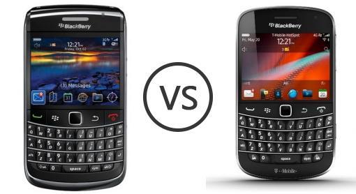 BlackBerry Bold 9700 Vs BlackBerry Bold Touch 9900