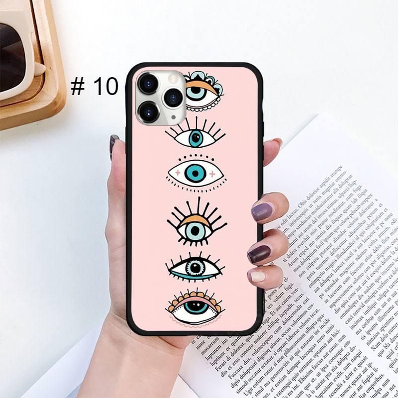 Fashion Evil eye Phone Case for iPhone 11 12 pro XS MAX 8 7 6 6S Plus X 5S SE 2020 XR mini