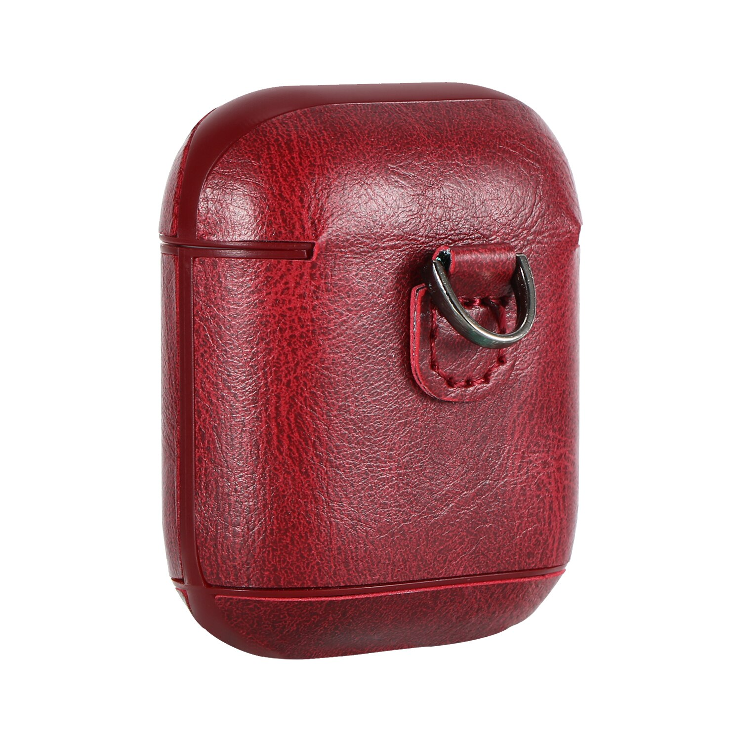 For Airpods Case Leather Luxury Bluetooth Ear-Phone Skin Covers For iPhone Air Pods 1 2 Gen Holders Coque Etui Aipods Fundas Wit