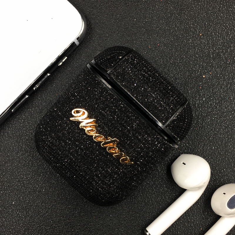 Shining Bling Case For iPhone SE 2020 11 Pro X 7 8 6 6S Plus XS Max XR Glitter Bluetooth Wireless Earphone Cover For AirPods