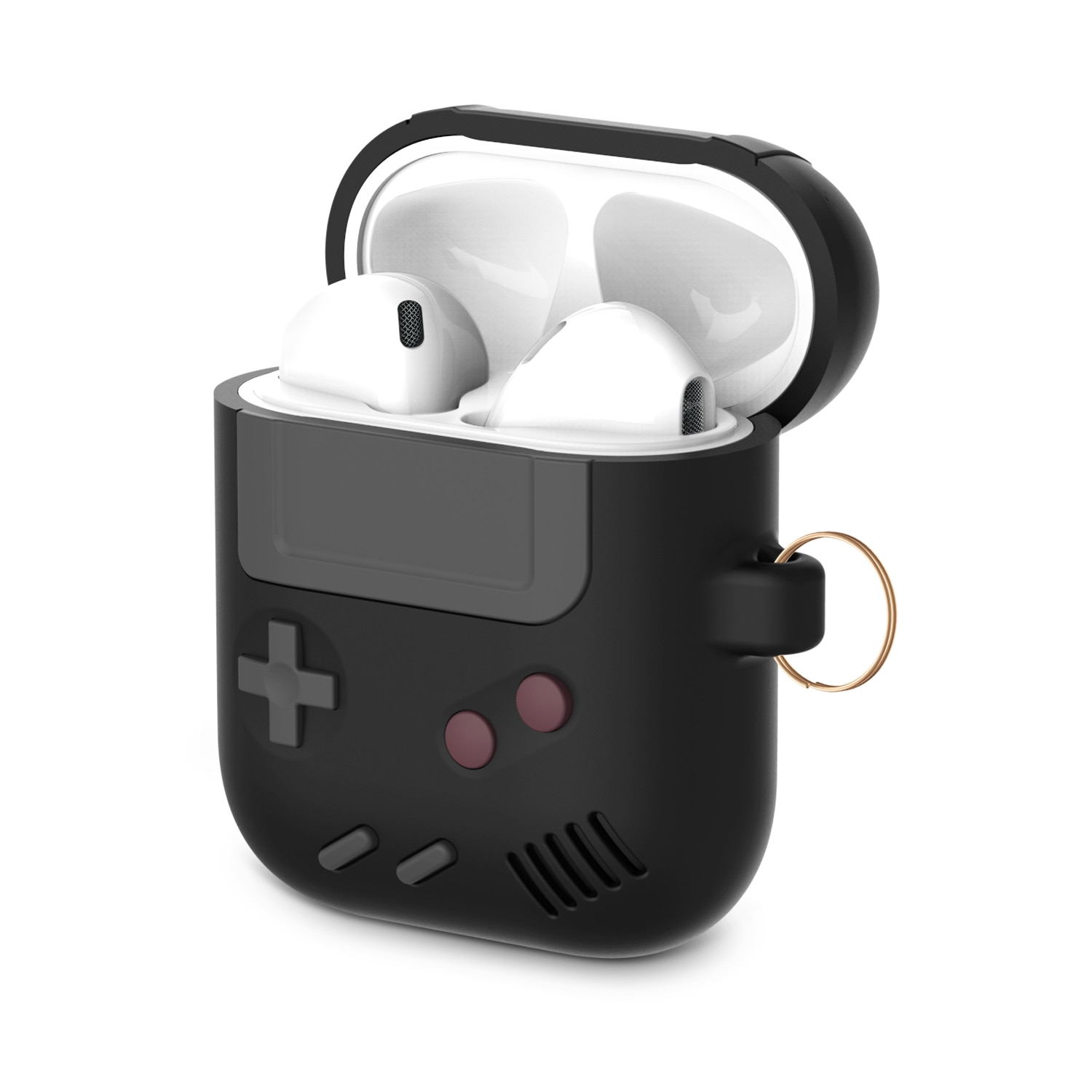 Silicone Earphone Case For Airpods 2 Protective Case For Apple airpods Pro 3 Wireless Bluetooth 3D Game Console Shockproof Cover