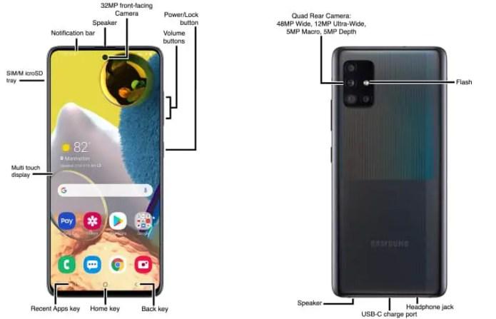 Samsung Galaxy A51 5g User Manual Phonecurious
