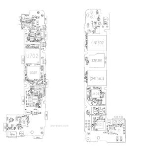 Nokia X RM980 service schematics