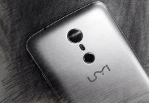UMi SUPER To Have Dual-camera with Bazeless Body