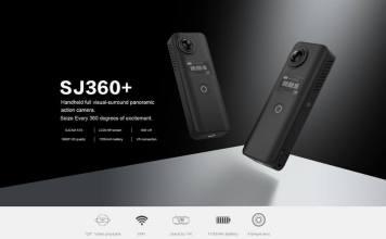 SJCAM SJ8 and SJ 360+Plus Cameras