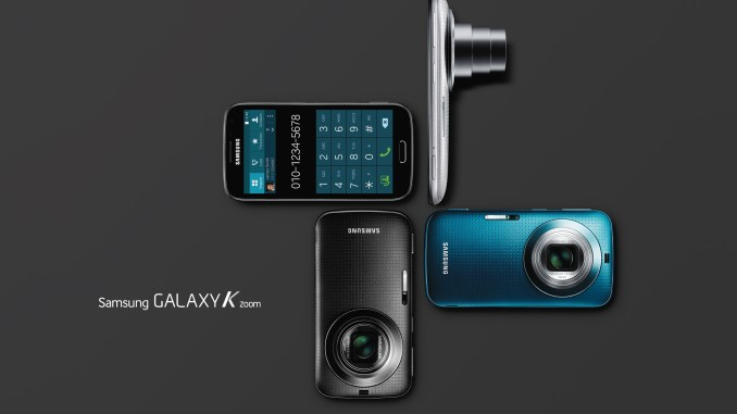 Samsung Galaxy K Zoom Colors