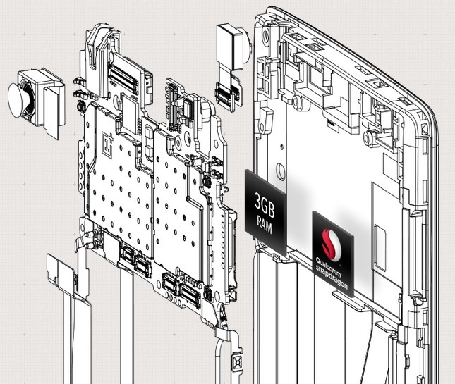 OnePlus One Internal