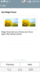 Magic focus