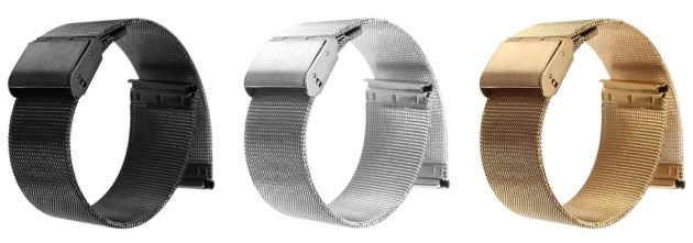 Stainless Steel Watch Mesh Band Strap