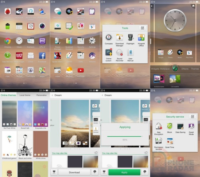 Oppo Find 7 interface 2