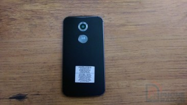 Moto X 2014 Hands-on Back