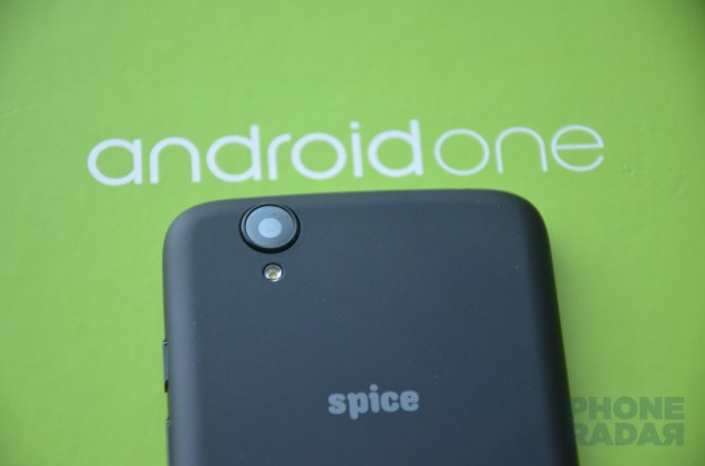 Spice Android One Dream Uno Back Camera