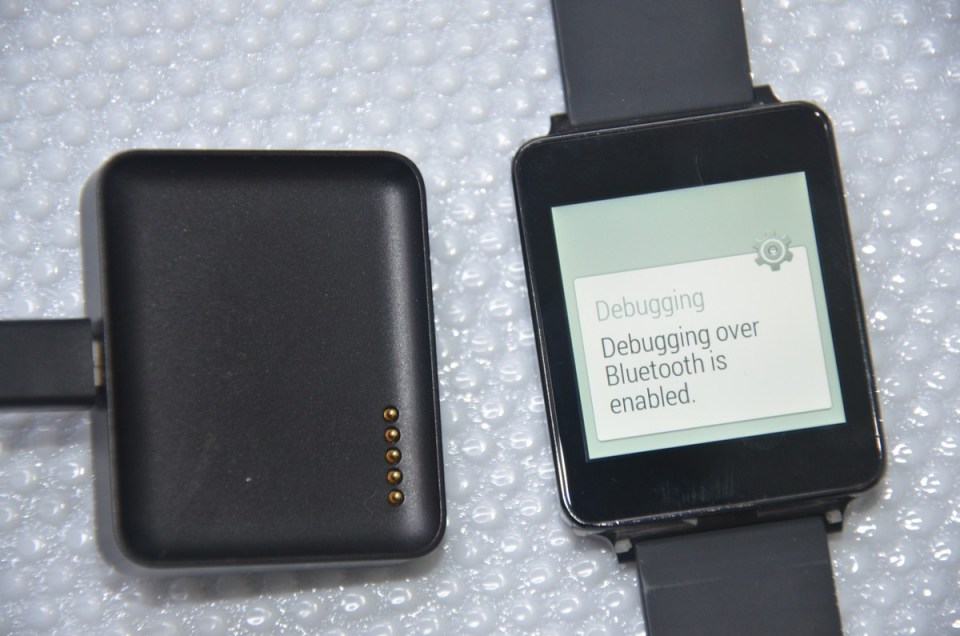 Take Screenshots on LG G Watch