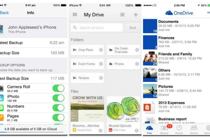 Top 5 - Best Cloud Storage iPhone and iPad Apps