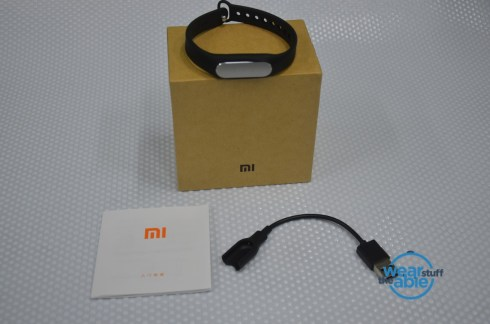 Xiaomi Mi Band Box Contents