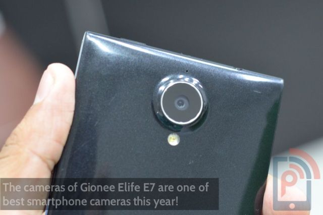 Gionee Elife E7 Camera