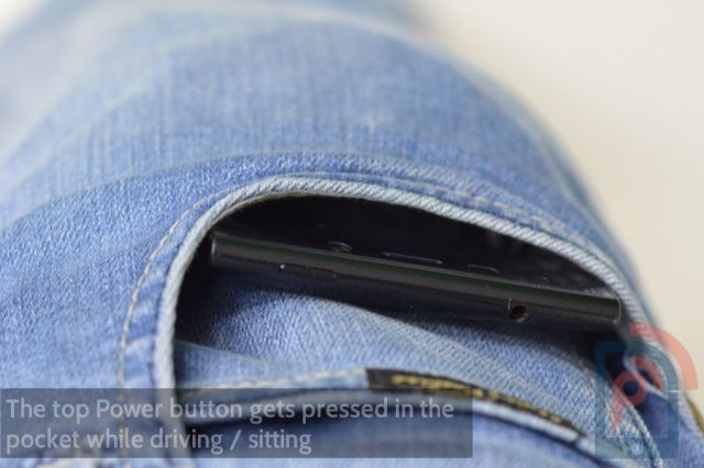Gionee Elife E7 Power Button