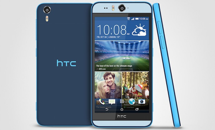 uk availability 78b3c d58e5 HTC announces the HTC Desire Eye Waterproof Phone with 13MP Front ...
